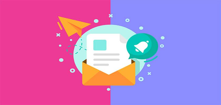 ارسال و پیگیری ایمیل